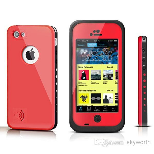 coque iphone 5 5s redpepper etanche antichoc waterproof. Black Bedroom Furniture Sets. Home Design Ideas