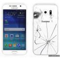 Changement vitre arrière Galaxy S6