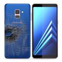 Changement vitre arrière Galaxy A8+ 2018